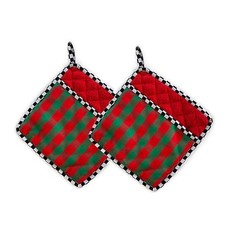 MacKenzie-Childs Merry Christmas Pot Holder