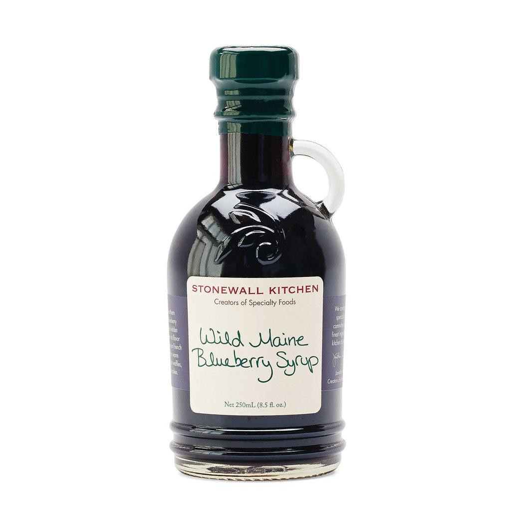 Wild Maine Blueberry Syrup