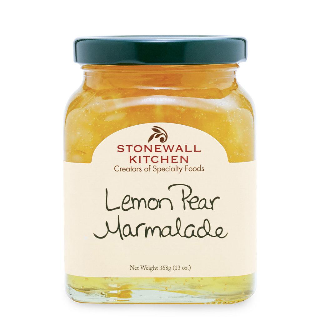 Lemon Pear Marmalade