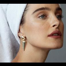 Kendra Scott Vivian Statement Earrings In Gold