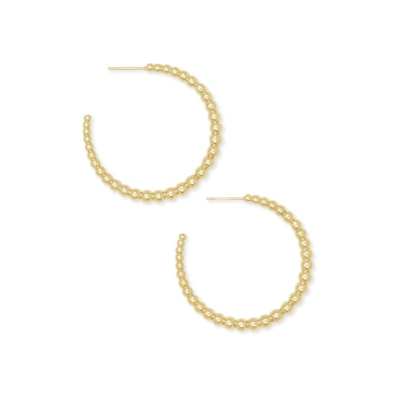 Josie Hoop Earrings In Gold