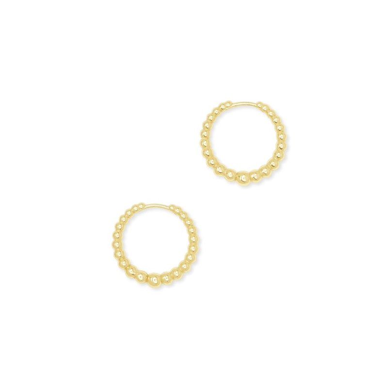 Josie Huggie Earrings In Gold