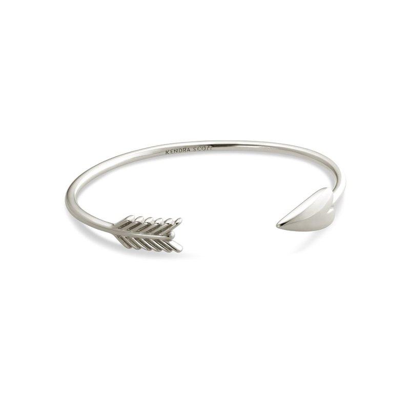 Zoey Cuff Bracelet In Silver