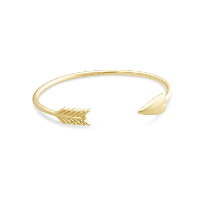 Zoey Cuff Bracelet In Gold