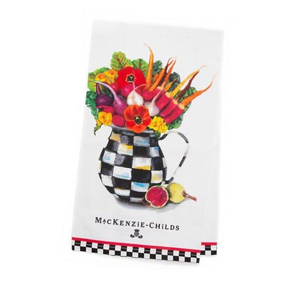 Vegetable Bouquet Dish Towel
