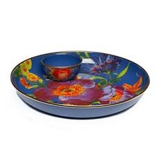 Flower Market Pinch Bowl - Lapis