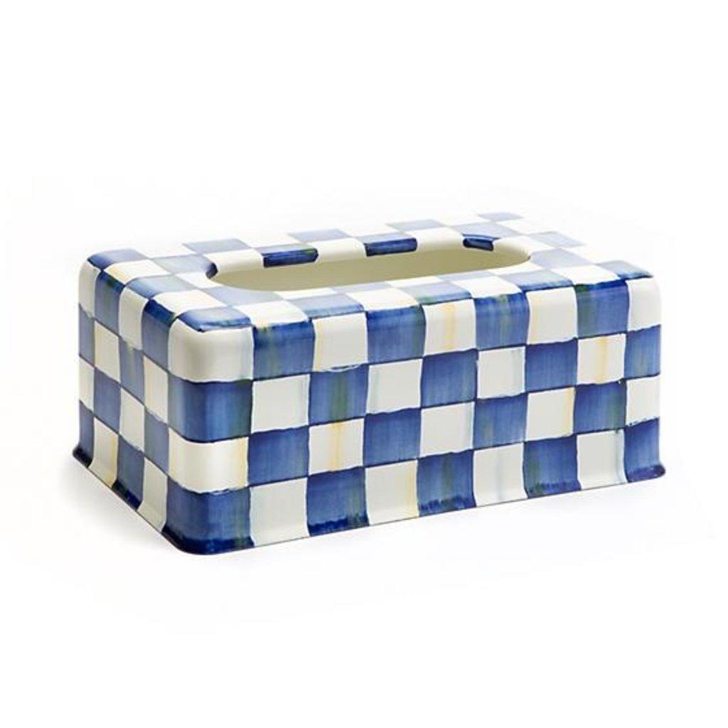 Royal Check Standard Tissue Box Cover