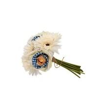 Royal Check Bouquet - White