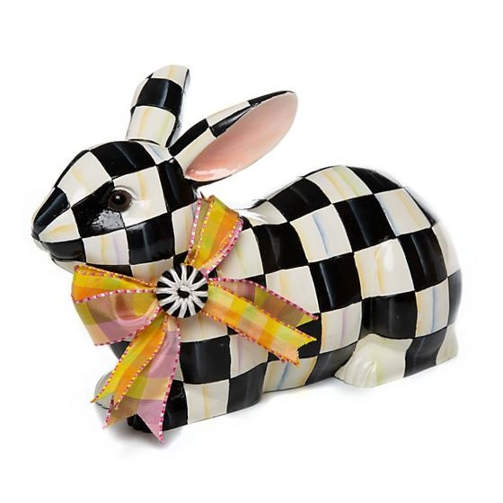 Courtly Check Resting Bunny
