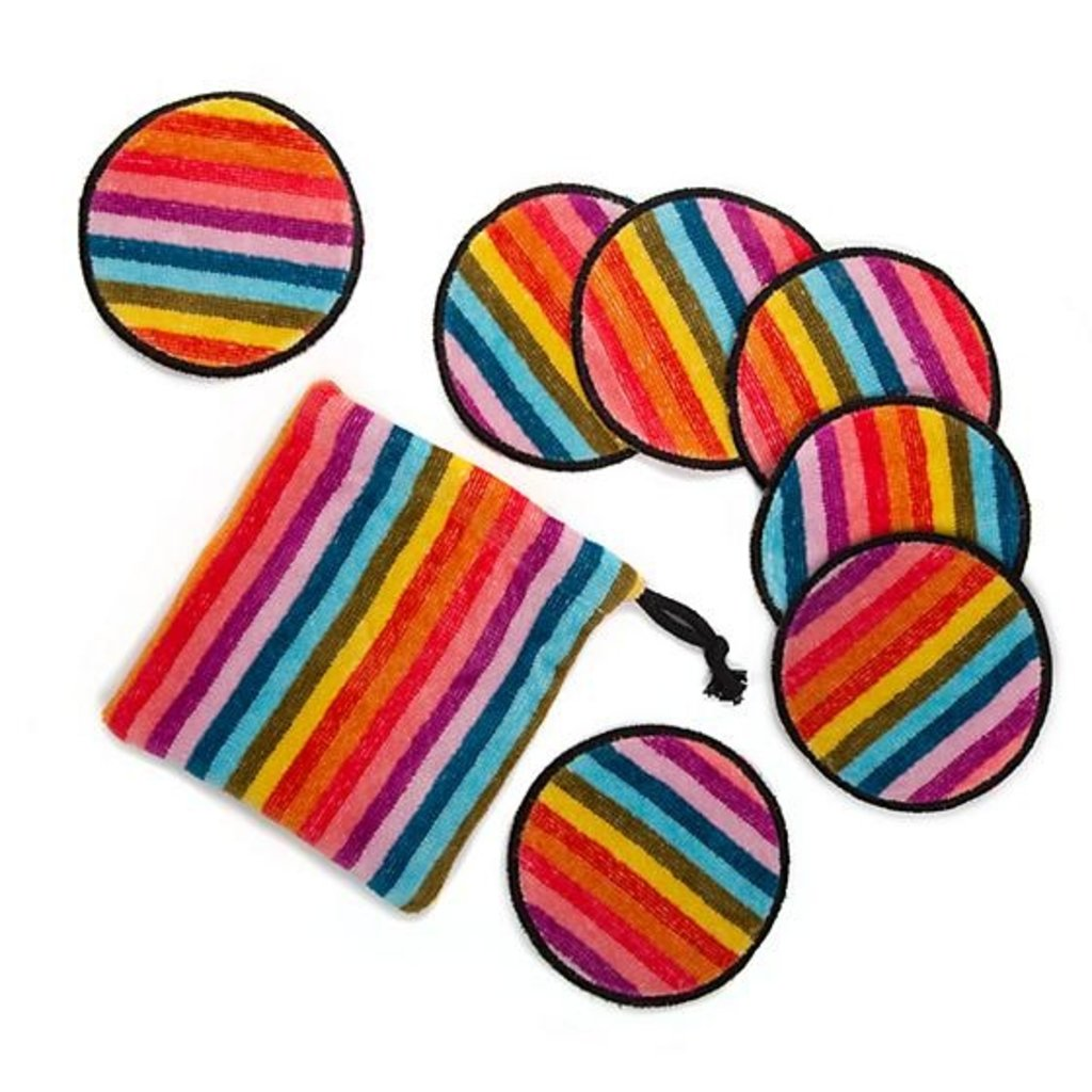 Calypso Stripe Make-Up Discs