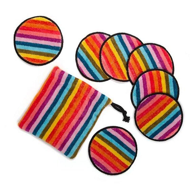 Calypso Stripe Make-Up Discs