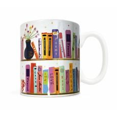 Bookshelf Coffee Mug*