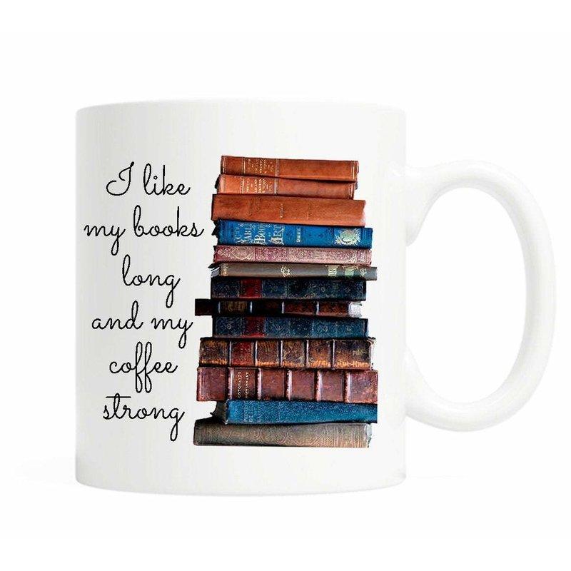 I Like My Books Long Mug*