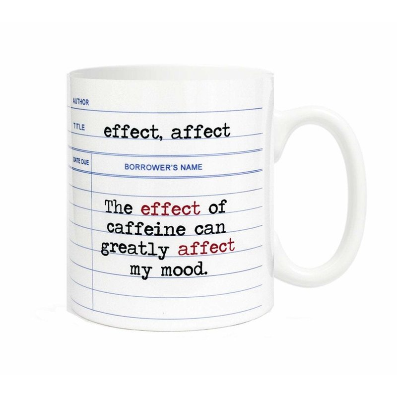 The Effect Of Caffeine Mug*