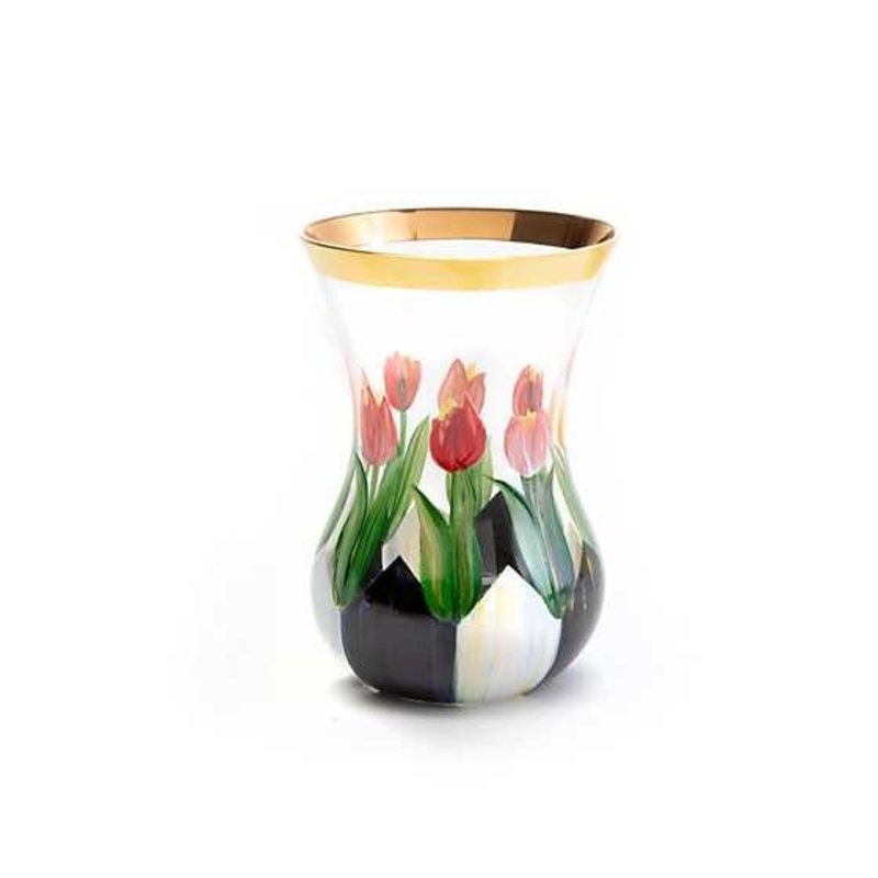 Small Tulip Tea Vase