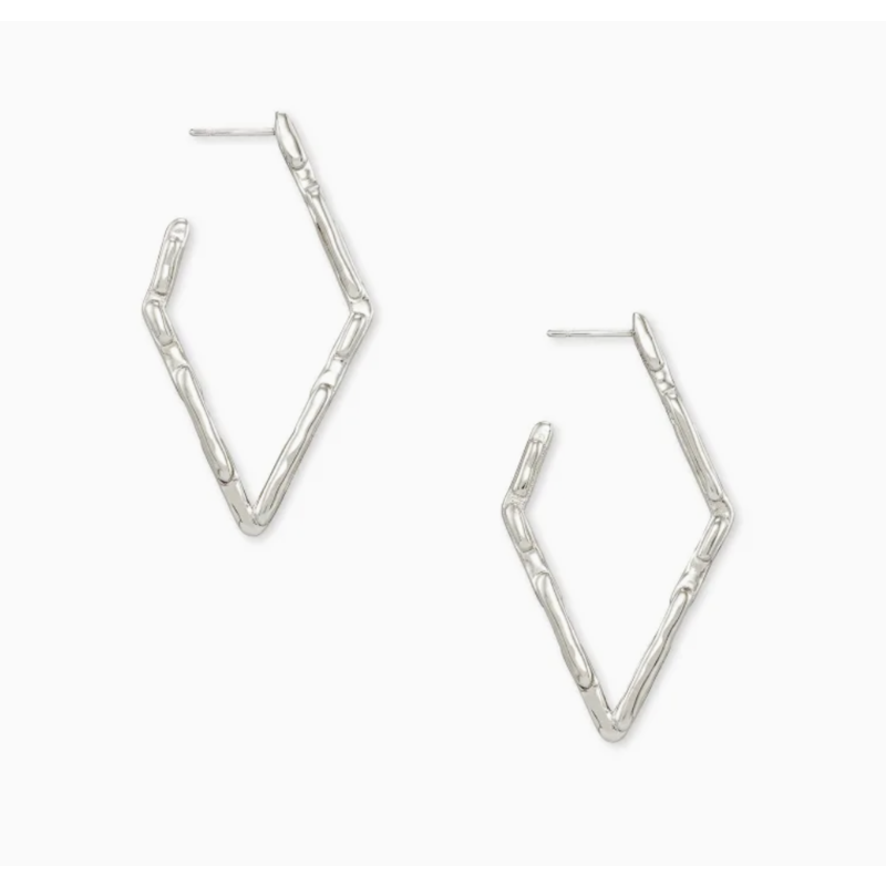 Rylan Small Hoop Earrings In Silver