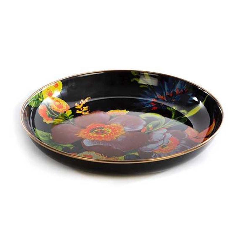 Flower Market  Abundant Bowl - Black