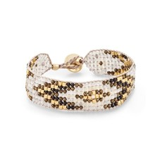 Kendra Scott Britt Beaded Bracelet Gold Neutral Mix
