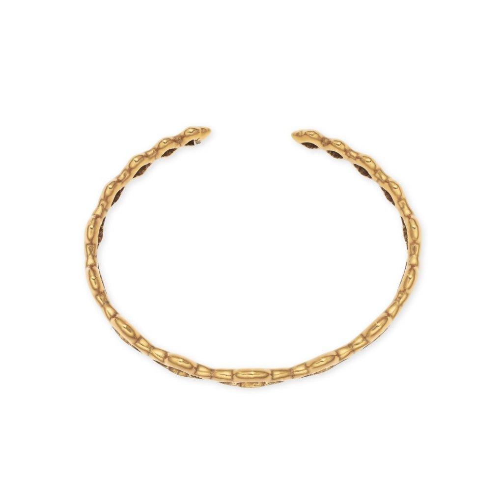 Kendra Scott Abbie Cuff Bracelet Vintage Gold Metal