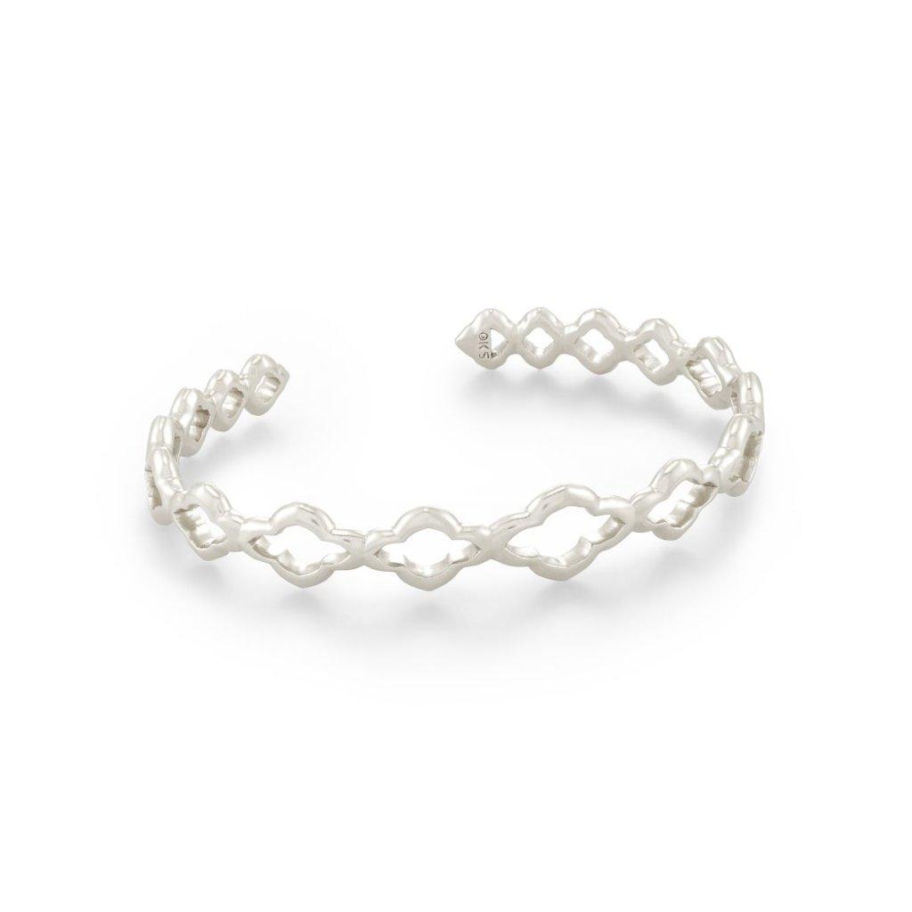 Kendra Scott Abbie Cuff Bracelet Silver Metal