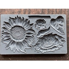 Iron Orchid Designs Sunflowers Decor Mould