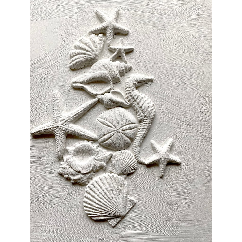 Iron Orchid Designs Sea Shells Decor Mould