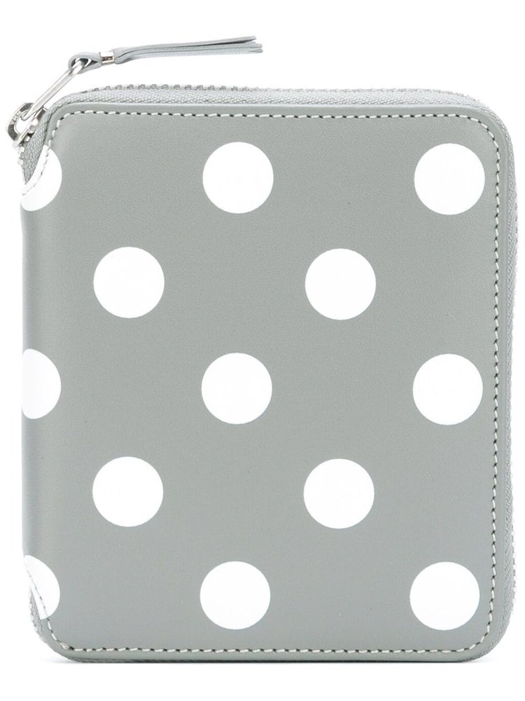 COMME des GARÇONS Wallets Dots Printed Leather Line Wallet