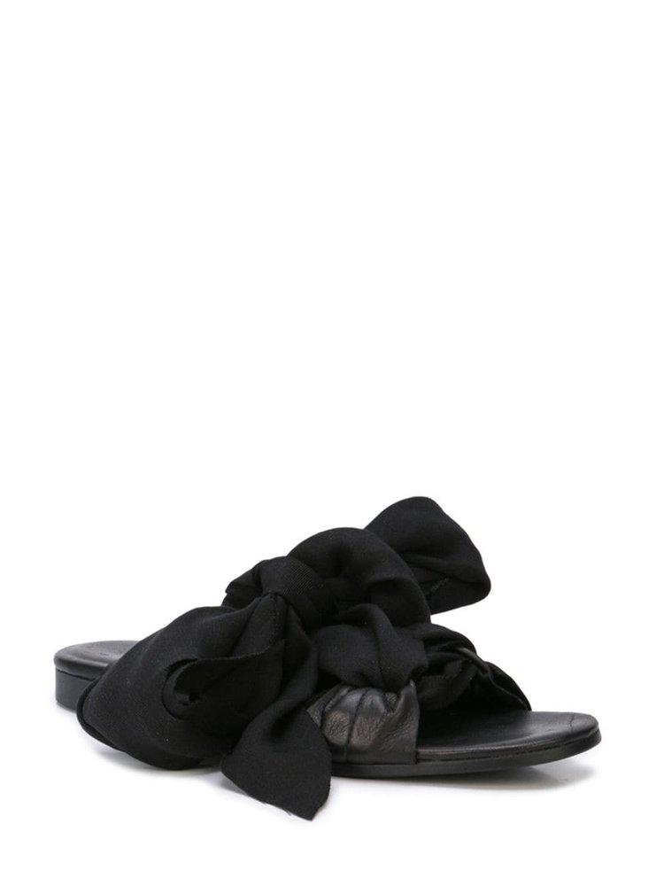 Yohji Yamamoto Bias Ribbon Sandal
