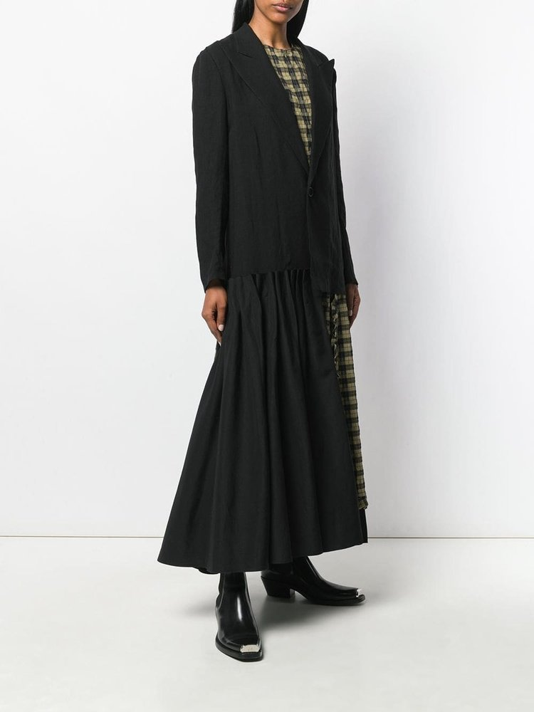 Yohji Yamamoto Yohji Yamamoto W Tuck Skirt Jacket