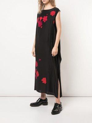 Yohji Yamamoto Front Open Button Dress