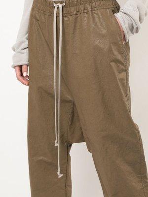Rick Owens Drawstring Cropped Pants
