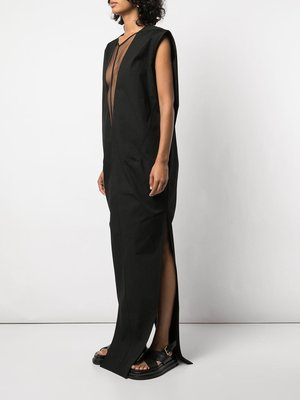 Rick Owens V-Neck Dagger Dress