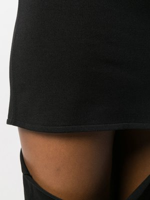 Rick Owens Shredded Pillar Skirt