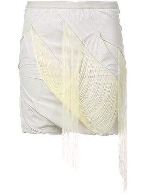 Rick Owens Easy Fringed Buds Shorts