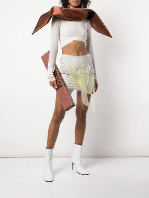 Rick Owens Easy Fringed Buds Shorts