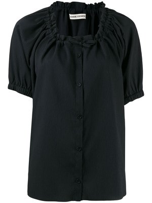 Henrik Vibskov Exhale Textured Button Shirt