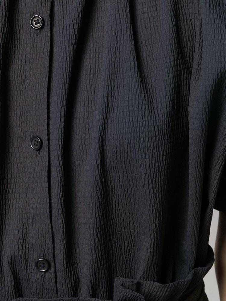 Henrik Vibskov Exhale Textured Button Shirt