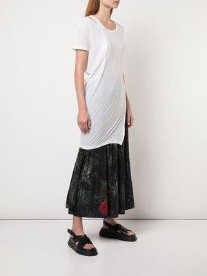 Yohji Yamamoto Twisted Drape Tee