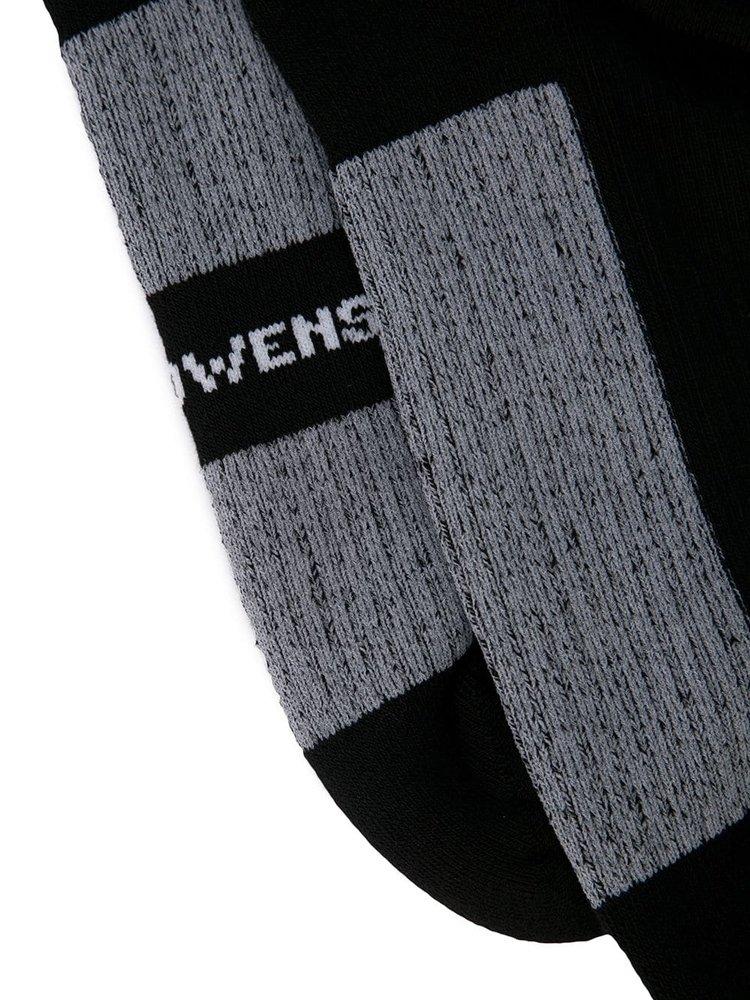 Rick Owens Glitter Knit Socks