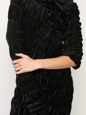 COMME des GARÇONS Asymmetric Draped Dress