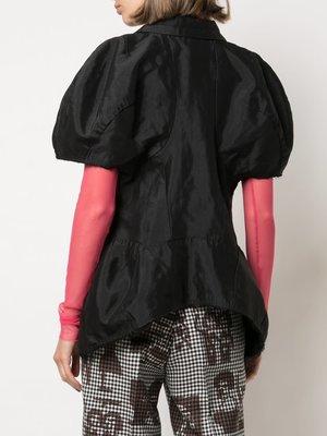 COMME des GARÇONS Balloon Sleeve Cropped Jacket