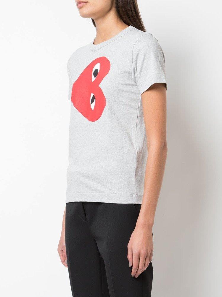 COMME des GARÇONS PLAY Contrast Logo T-Shirt
