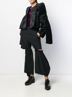COMME des GARÇONS Velvet 4 Sleeved Jacket