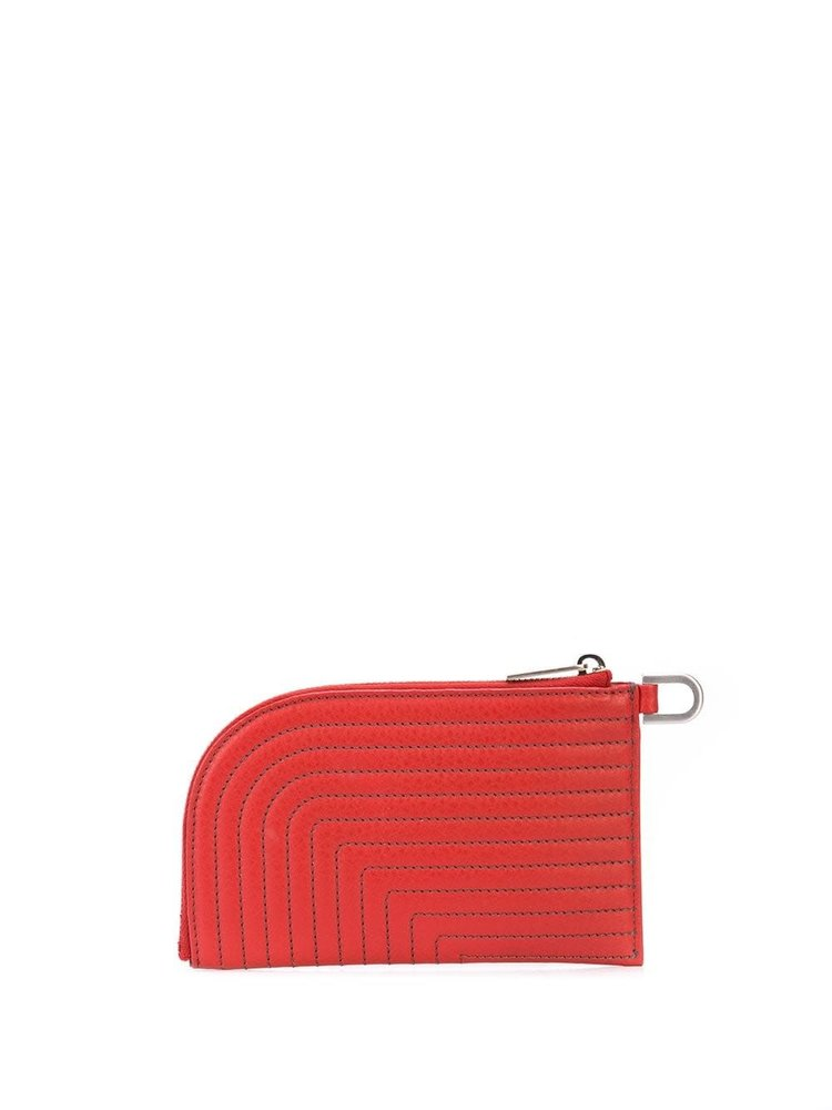 Rick Owens Contrast Stitched Wallet