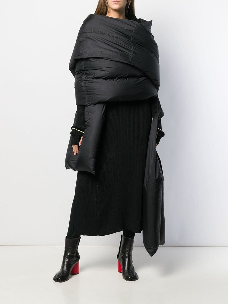 Rick Owens Long Padded Stole