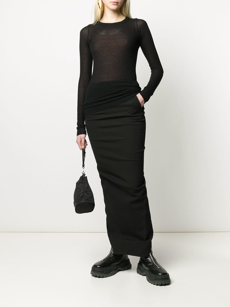 Rick Owens Ribbed Knit Top
