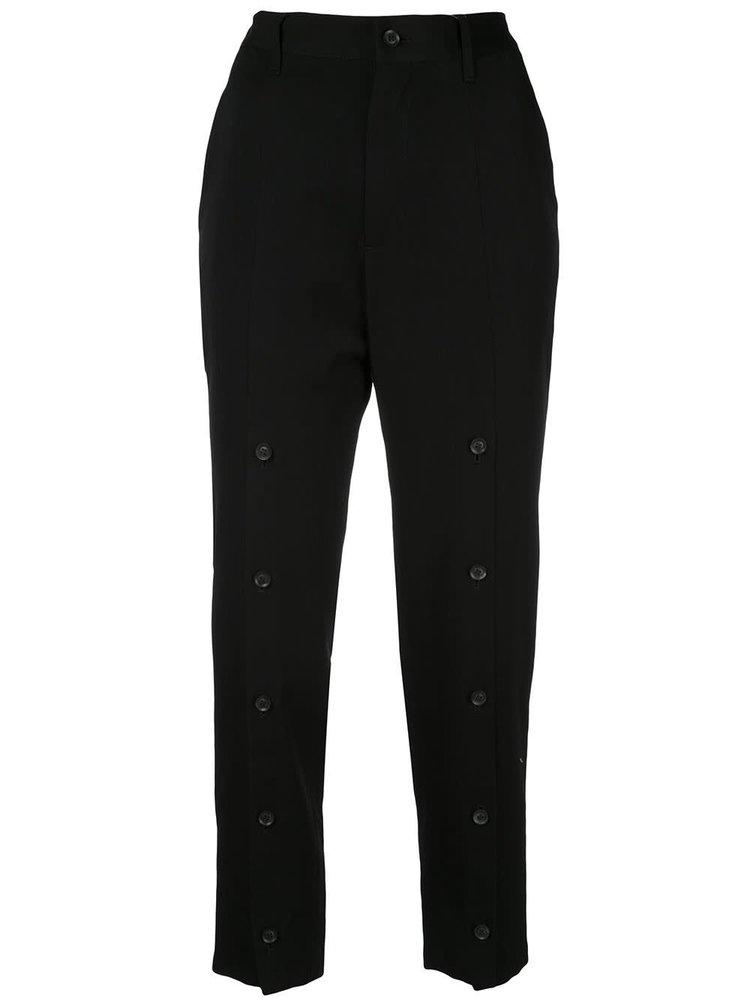 Yohji Yamamoto Front Open Slim Pants