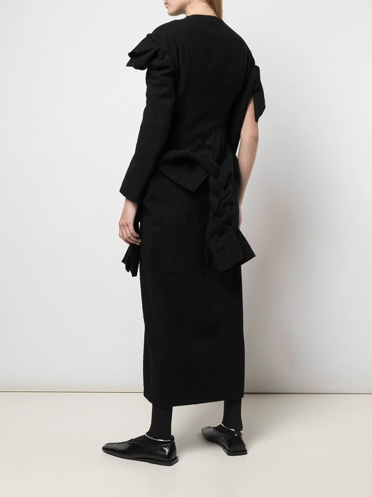 Yohji Yamamoto Scrap Cloth Knit Dress