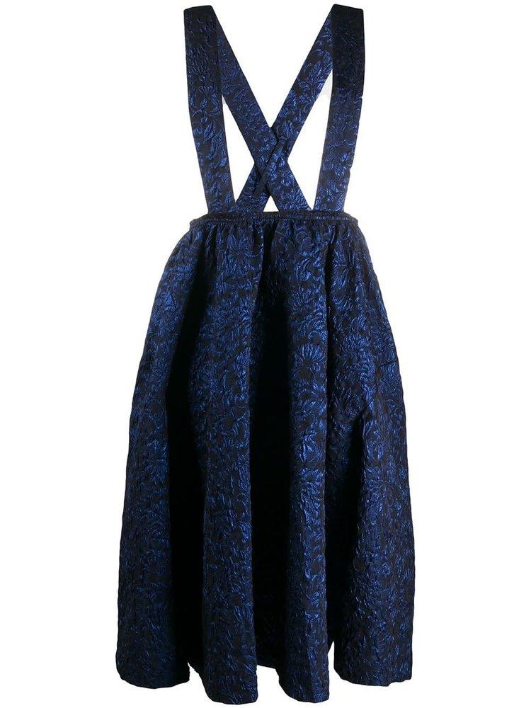 COMME des GARÇONS Suspender Jaquard Skirt