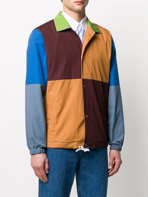 COMME des GARÇONS SHIRT Color Block Stud Shirt